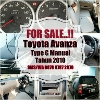 Foto Toyota Avanza G, Manual, Black, 2010, full...