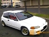 Foto Honda Civic Estilo Manual Warna Putih 1995