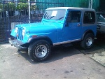 Foto Jeep cj7 amc 1982