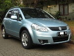 Foto Dijual Suzuki Cross-Over SX4 tahun 2008 with...
