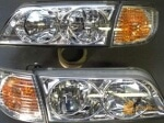 Foto Headlamp Nissan Cefiro 90-93 crystal, 1 Set...