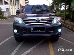 Foto Toyota Grand Fortuner 2.5 G Vnturbo At Hitam 2013