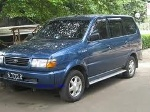 Foto Kijang LGX Th. 1998 Warna Biru Metalik