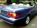 Foto Mercy Clk230 Cabrio Canvas Biru. Antik!