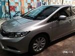 Foto Honda Civic 1.8 At 2014 Silver Metalic