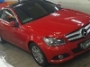 Foto Mercedes Benz C180 Coupe 2014 panoramic merah...