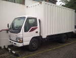 Foto Isuzu elf box