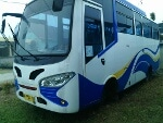 Foto BU. Over Kredit medium bus mitsubishi, Km....