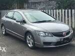 Foto Civic FD1 MT 2007 gray, tangan 1 km 84rb mobil...