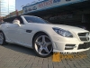 Foto Mercy slk 250 amg magic sky putih 2012 km5rb