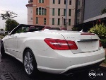 Foto E250 Cabrio 2011/2012 Amg White On Red Full...