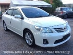 Picture 2012 Toyota Altis 1.8. A G Full Spec