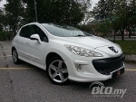 Picture Peugeot 308 Turbo Panoramic 1.6 (a) highspec-white