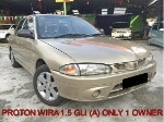 Picture Proton wira 1.5 (a) injection 1 owner - [used]