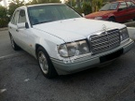 Picture 1989 Mercedes Benz E230 (A) 1991