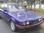 Picture 1990 BMW 520i (M) 1990 with Single Digit Plate