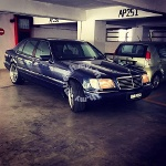Picture 1996 Mercedes Benz S320L (A)