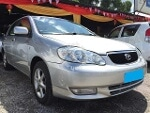 Picture Toyota Altis 1.8 g spec new facelift model