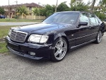 Picture 1999 Mercedes Benz S280 (A)