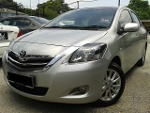 Picture 2013 Toyota Vios 1.5 (at) new facelift e spec...