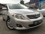 Picture 2009 Toyota Altis 1.8 (a) S. Record, 1 director...