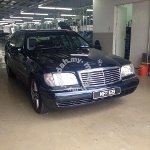 Picture 1995 Mercedes Benz S320 SWB (A)