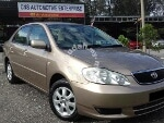 Picture 2003 Toyota Altis 1.6 e (a) new paint