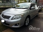 Picture 2010 Toyota Corolla Altis 1.8 G with leather...