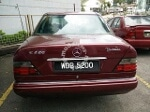 Picture 1991 Mercedes Benz E220 2.2 (a)