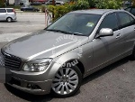 Picture 2008 Mercedes Benz C200 (A) Kompressor 1.8 W204