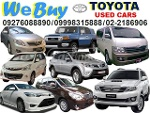 Picture Buying Toyota Cars