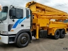 Picture Used truck mounted concrete pumps factory...