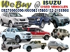 Picture We Buy Isuzu used Pick-Up and SUV
