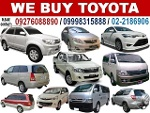 Picture Buying Toyota Cars Van Pick-Up AUV SUV