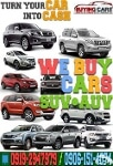 Picture We Buy Toyota Car Sedan Auv Suv Van Pick-up in...