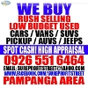 Picture We buy cars (spot cash) pampanga area low...