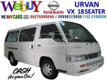 Picture Nissan Urvan VX 18 seaters