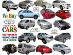 Picture We Buy Toyota Cars 09276088890 / 099983---88 /...