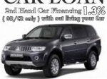 Picture 2nd hand car financing 1.3% with easy payment term