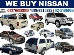 Picture Buying Nissan Cars, Van, Pick-Up and SUV