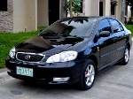 Picture Toyota altis 2002 model ladydriven