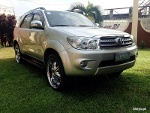 Picture 2009 Toyota Fortuner G 2. 7 VVti Gas