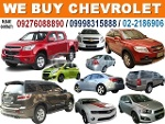 Picture Buying Chevrolet Cars, Pick-Up's and SUV's