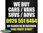 Picture We buy cars (pampanga area)