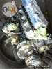 Picture 5k toyota engine complete and 5 speed REDUCE...