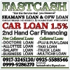 Picture 2nd hand car financing fast approval @ 1.5%