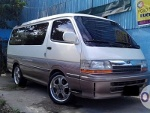 Picture Toyota hi ace custom van surplus * for only...