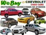 Picture We Buy Chevrolet Cars