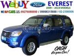 Picture We Buy Ford Everest Ice Series 2009 - 2013 models