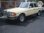 Picture 1981 Mercedes Benz S123 300td Turbodiesel